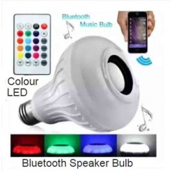 Bluetooth Speaker Bulb With Remote