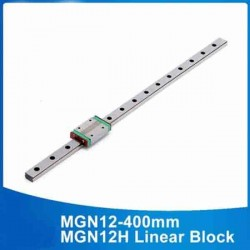CNC Linear Guide Shaft 400mm MGN12