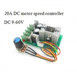 20A DC motor speed controller
