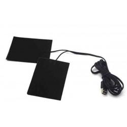 USB Carbon Fibre Electric Cloth Heater Pads