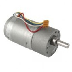 12V 200RPM 37mm Geared Motor