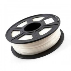 1.75mm 1KG White / Silver Color 3D Printer Filament