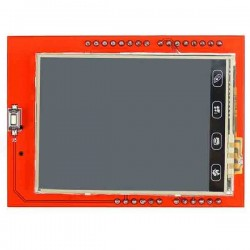 "TFT 2.4"" LCD Touch Screen Expansion Shield"