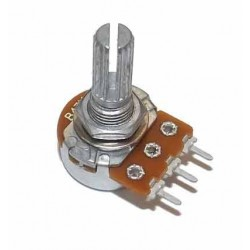 10K ohm Anti-Log Rotary Taper Potentiometer