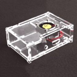 Raspberry pi3 Acrylic Clear Case With  Fan