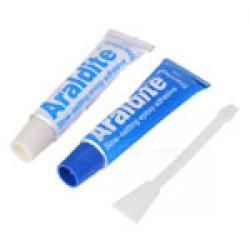 Araldite Adhesive  Blue + White