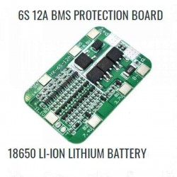 6S 12A BMS PROTECTION BOARD 18650  BATTERY