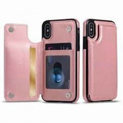 PU Leather Flip Phone Cas with wallet card A70/A70S