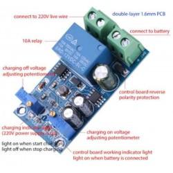 12V 24V Battery Charger Controler Intelligent