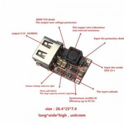 DC 6-24V 12V/24v to 5V USB Output