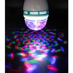 DJ Auto Rotating RGB LED Light