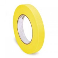 HEAT RESISTANT YELLOW TAPE 10MM