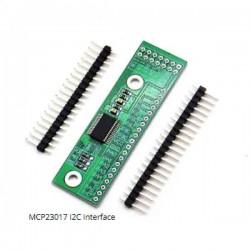 MCP23017 I2C Interface 16bit I/O Extension Module