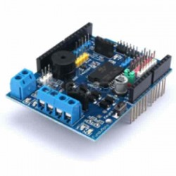 Arduino Motor Driver L298P Shield