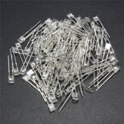 LED Flat Top 2x3x4mm White In White
