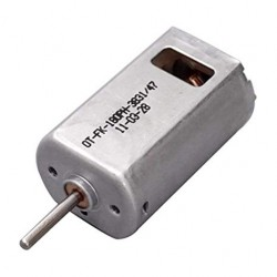 Mini Carbon Brush Motor DC 3.7-7.4V 39000RPM High Speed For RC Aircraft
