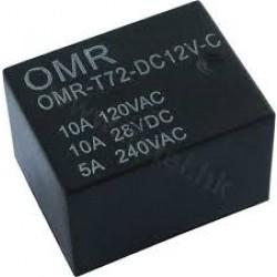 Relay 12V 10A OMR