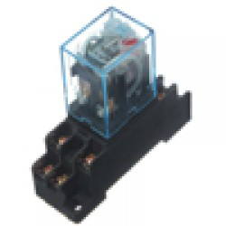Relay 24V DC Omron DPDT  8Pin