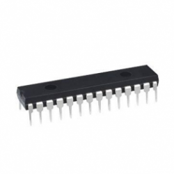 PIC18F2520 28-pin Flash 32kbyte 40MHz Microcontroller