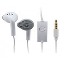 SAMSUNG EARPHONES WITH MIC - WHITE