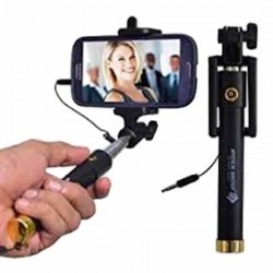 Selfie Stick with Wire/Aux Cable