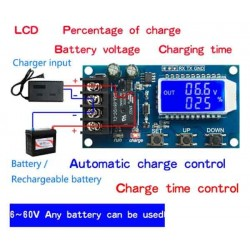 Digital XY-L10A Battery Charge Controller
