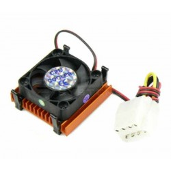 DC12V CPU cooling fan with heatsink