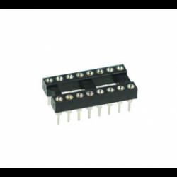 16 Pin Machine Tooled IC Socket