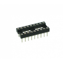 18 Pin Machine Tooled IC Socket