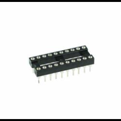 20 Pin Machine Tooled IC Socket