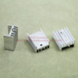 Aluminum Heat Sink 25mm