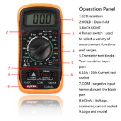 Digital Multimeter XL830L