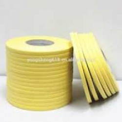 HEAT RESISTANT YELLOW TAPE 6MM