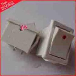 Rocker Switch 2pin  6A White