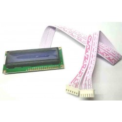 LCD 16X2 Wit Cable 35cm