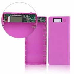 Power Bank Battery Case 18650x8 Battery Box