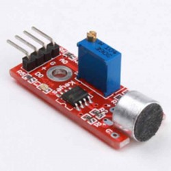 Sound Sensor Module Red Color