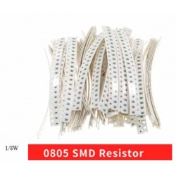 7.5 ohms resistor smd 1/8w 0805