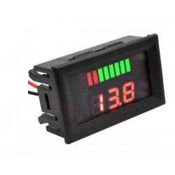 Battery Test Voltmeter Digital